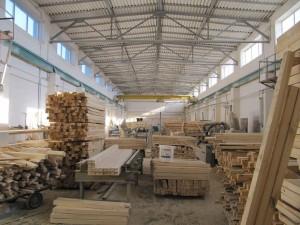 Цех первичной деревообработки